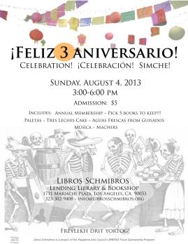 3rd Anniversary flyer