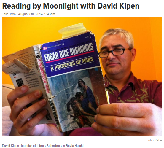 Reading by Moonlight with David Kipen - August-4-2014