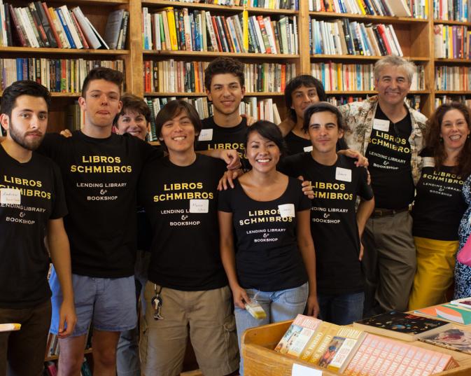 The Crew - Thank you! - Libros Schmibros Aniversario 2013