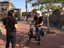BL rider getting set