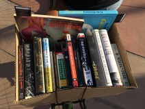 BL curated books ready to go