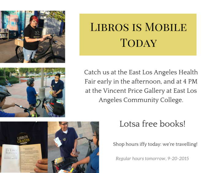 Libros is Mobile Today