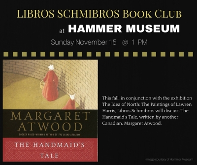 Libros Schmibros Book Club - Hammer Museum - November 15 at 1 PM