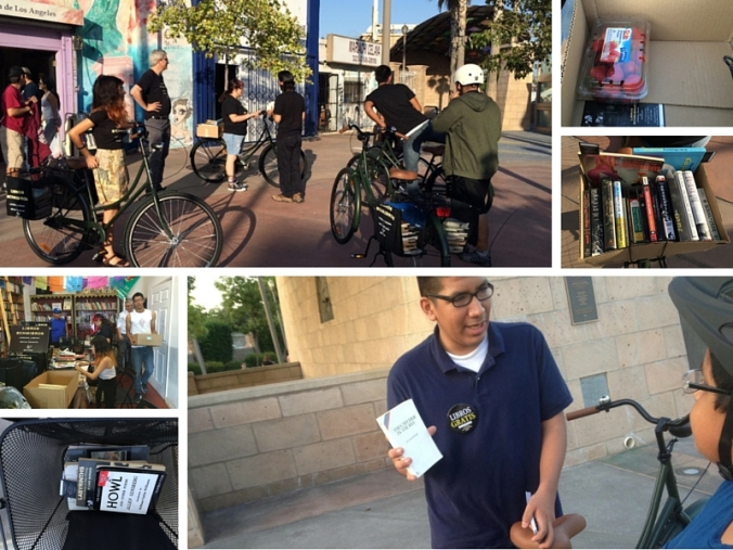 Bicycle Libraries 2015 - Libros Schmibros Lending Library