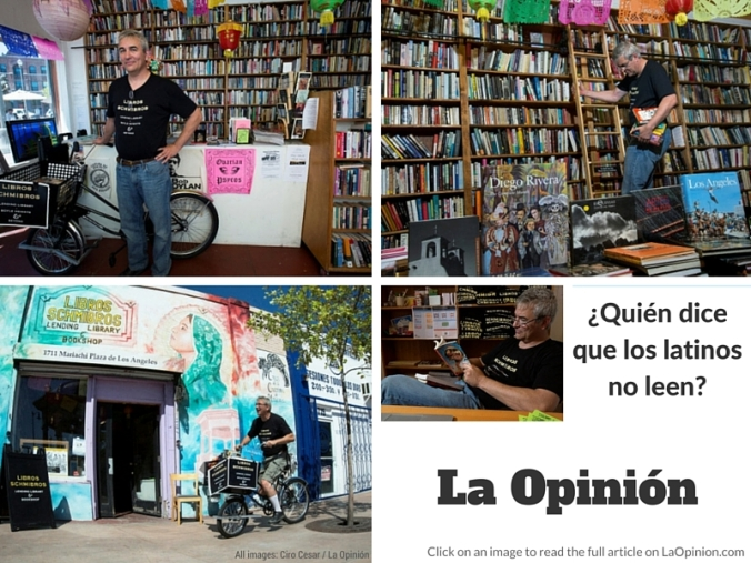 Quien dice que los lationos no leen? - La Opinion 2014