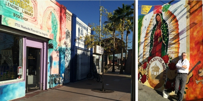 Libros Schmibros on Mariachi Plaza in Boyle Heights - near Metro Gold Line