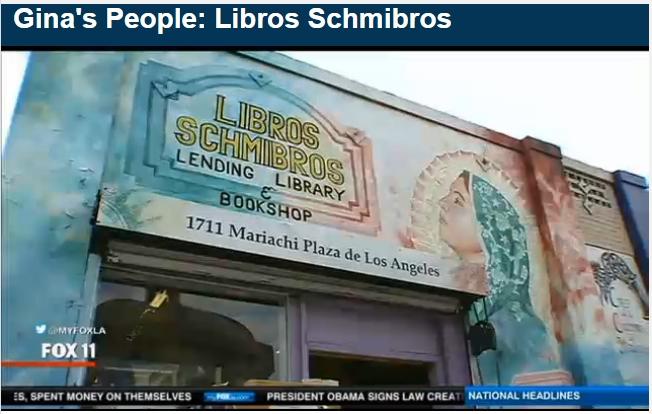 Ginas People - Libros Schmibros (Gina Silva - FoxLA)