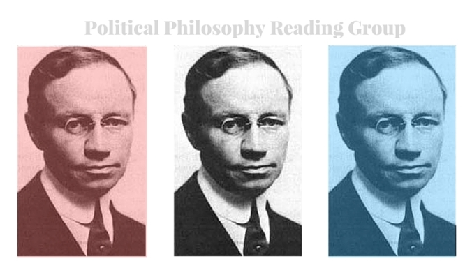 Croly - Political Philosophy Reading Group - July 7, 2016