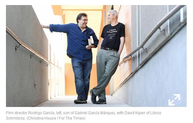 Rodrigo Garcia and David Kipen - LA Times - August 3 2016