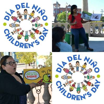 Celebrate El Día del Niño with the Libros Schmibros Children's Storytelling Hour, this Sunday April 30th at 2PM!