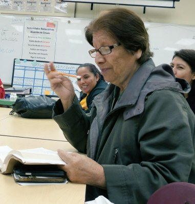 Parent's Reading Group at Roosevelt High School
