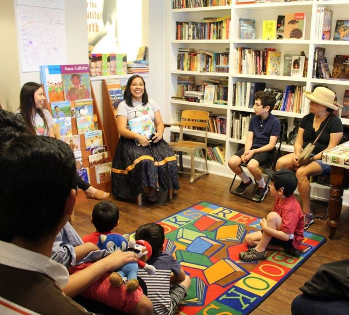 Children's Storytelling Hour at Libros Schmibros Lending Library