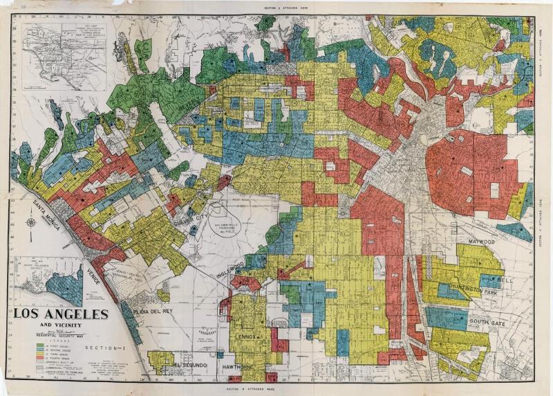 Los Angeles Zoning Map - 2020 Libros Schmibros Summer Fellowship Program