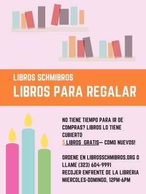 Libros Schmibros Libros para Regalar - 5 libros gratis hasta el 23 de diciembre 2020